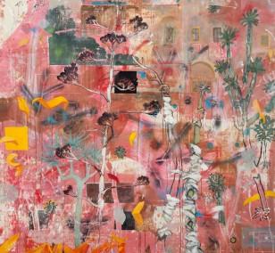 Spurensicherung_08, Malerei von Malwin Faber