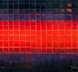 Unter Druck | Malerei von Lali Torma | Acryl auf Leinwand, abstrakt