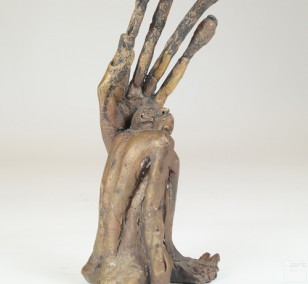 Linke - Bronze Plastik - Skulptur seitl - Tim David Trillsam Bildhauer Künstler