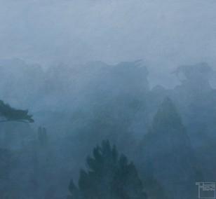 Der Tag kommt | Malerei von Sven Wiebers | Acryl auf Baumwolle, realistisch