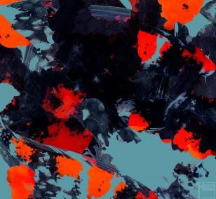 Koi Destroy 2 | Fotografie von Theresa Lambrecht, Echter FotoAbzug auf Alu Dibond, limitierte Edition