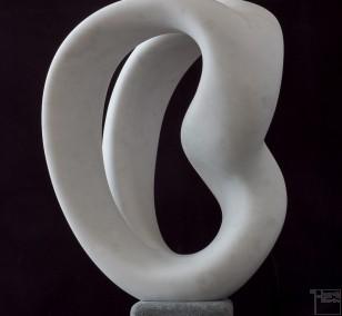 Laokoon, aus Marmor, Stein Skulptur von Bildhauer Klaus W. Rieck