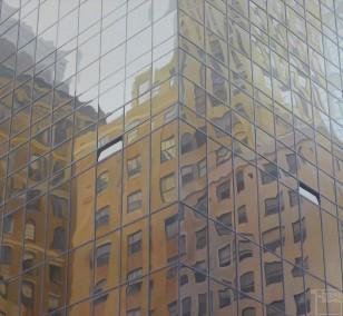 Eckhaus | Malerei von Sven Wiebers | Acryl auf Baumwolle, realistisch