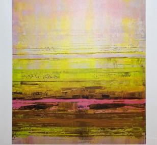 Kunstdruck Prisma 13 - Pinker Nil by Torma | Fineartprint Hahnemühle, Limitierung 10