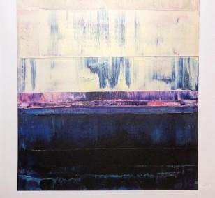 Kunstdruck Prisma 14 - Iceberg Under Line by Torma | Fineartprint Hahnemühle, Limitierung 10