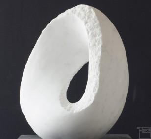 Carrara, Marmor Stein Skulptur von Bildhauer Klaus W. Rieck