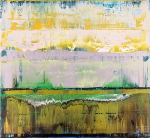 Prisma 6 - Kleiner Fluss | Malerei von Lali Torma | Acryl auf Leinwand, abstrakt