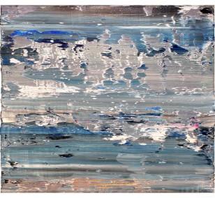 o.T. S1_02 FarbeHolz | Malerei von Malwin Faber | Öl, Acryl auf Holz, abstrakt
