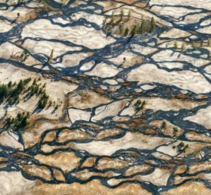 Woven Water | Fotografie von Finkbeiner & Salm, Lambda-Foto-Abzug auf Alu-Dibond, limitierte Edition