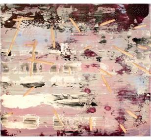 o.T. S1_03 FarbeHolz | Malerei von Malwin Faber | Öl, Acryl auf Holz, abstrakt