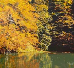 Impression | Malerei von Sven Wiebers | Acryl auf Leinwand, realistisch