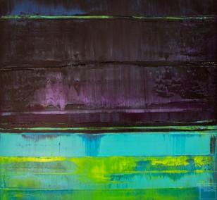 Prisma 16 – Verbotener Fluss | Malerei von Lali Torma | Acryl auf Leinwand, abstrakt