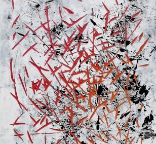o.T. FarbeHolz | Malerei von Malwin Faber | Acryl auf Holz, abstrakt
