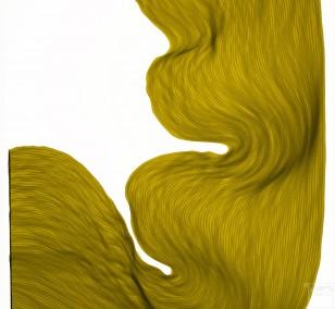 Rusty Lime | Lali Torma | Zeichnung | Kalligraphietusche auf Papier