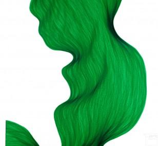 Vert Malin | Lali Torma | Zeichnung | Kalligraphie Tinte auf Papier