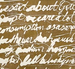 Malerei Befehlen und Erobern #51 | Künstler Marek Schovanek, Lack und Bienenwachs auf Leinwand, Serie Command and Conquer
