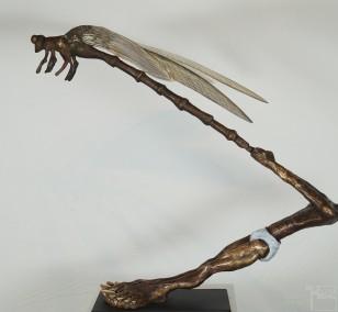 If you love me - Bronze Plastik, Skulptur von Tim David Trillsam, Edition