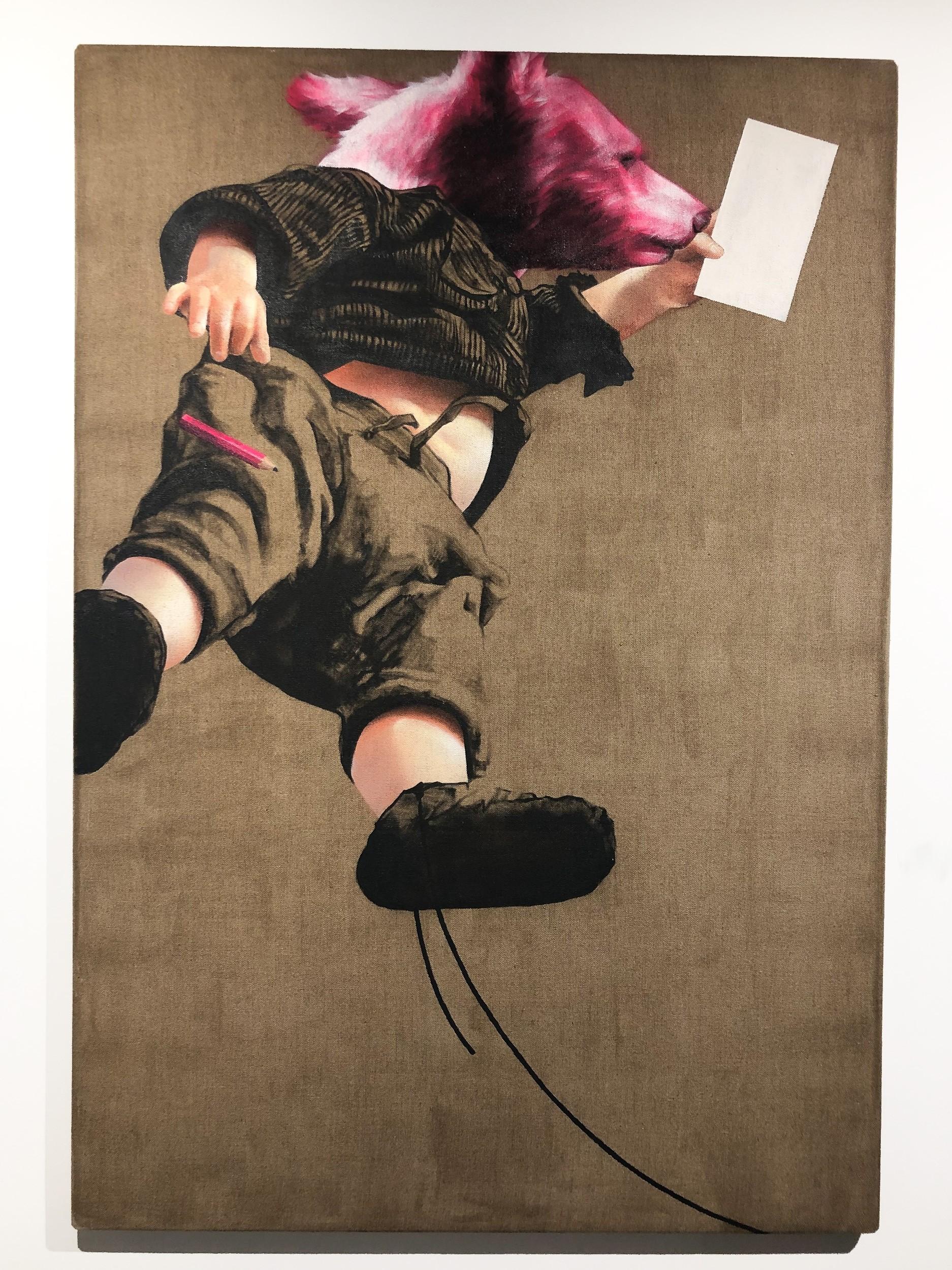 Pflegeleicht | Malerei von Jakob Tory Bardou, innerfields | Acryl auf Leinwand, 110 x 160 cm