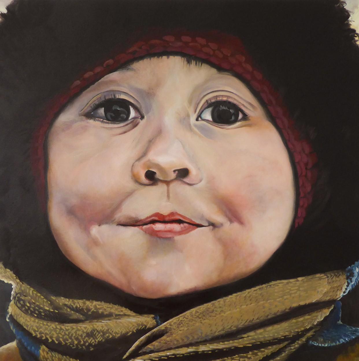4 in Murmansk | Malerei von Eva Nordal | Öl auf Leinwand, realistisch