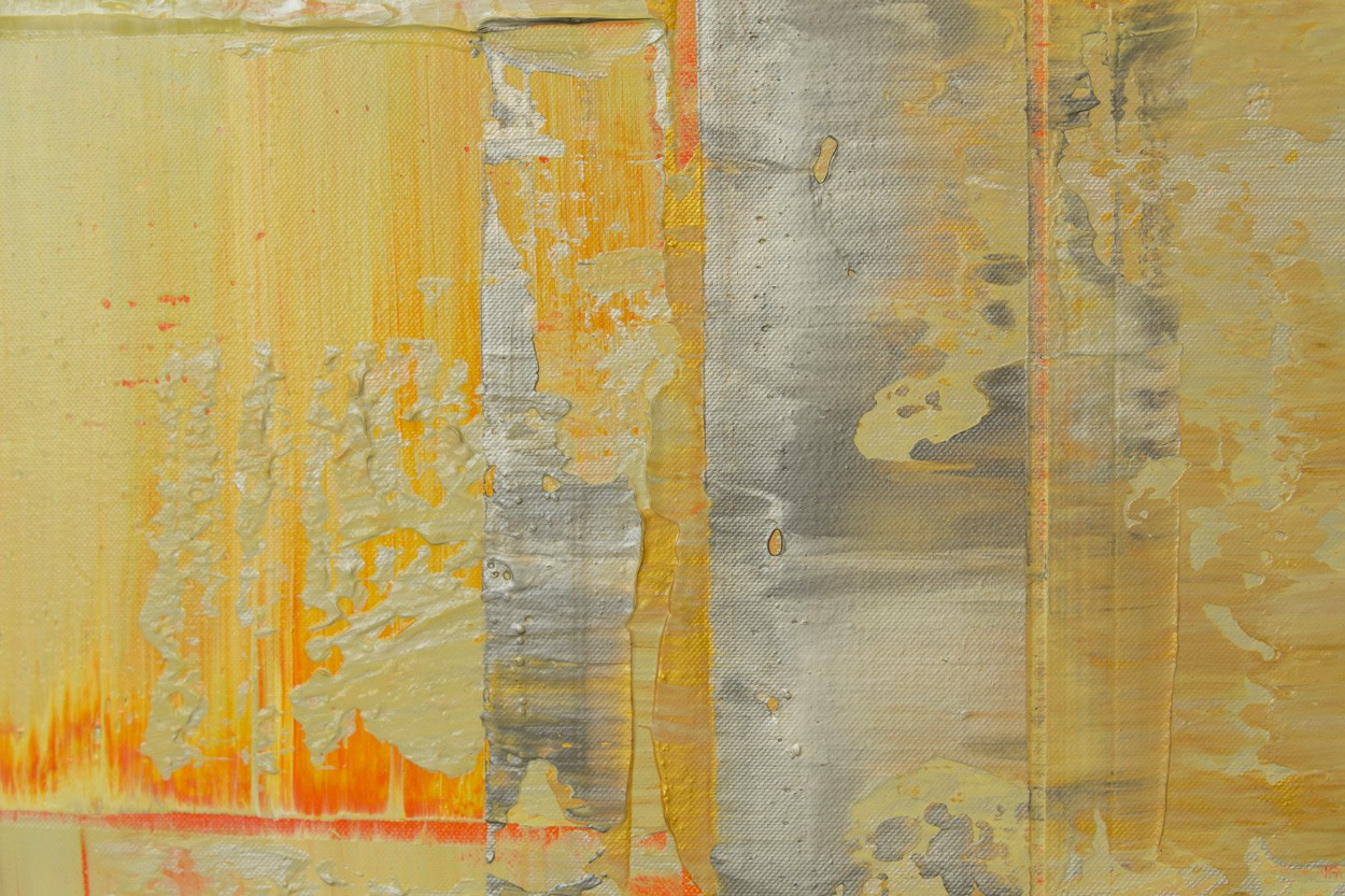 Opal-Gezeiten, Detail, Malerei von Lali Torma | Acryl auf Leinwand, abstrakt