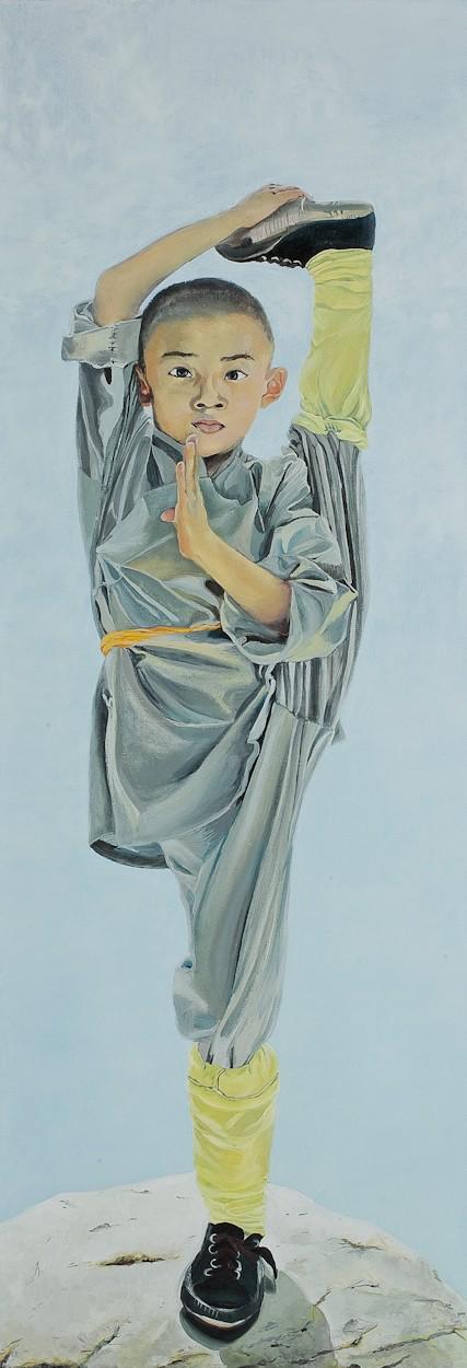 Hohe Luft | Malerei von Eva Nordal | Öl auf Baumwolle, realistisch
