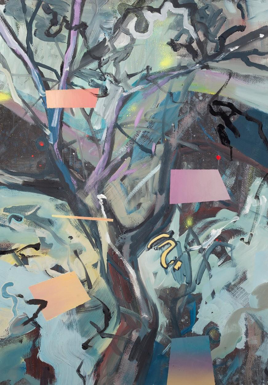 Zwischenräume_1.3 | Malerei von Malwin Faber, gerahmt