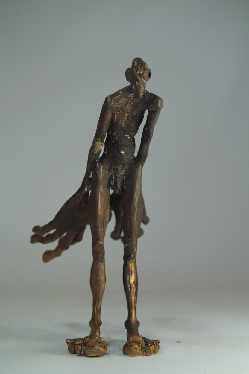 Unschuld - von vorn, Bronze Plastik, Skulptur von Tim David Trillsam
