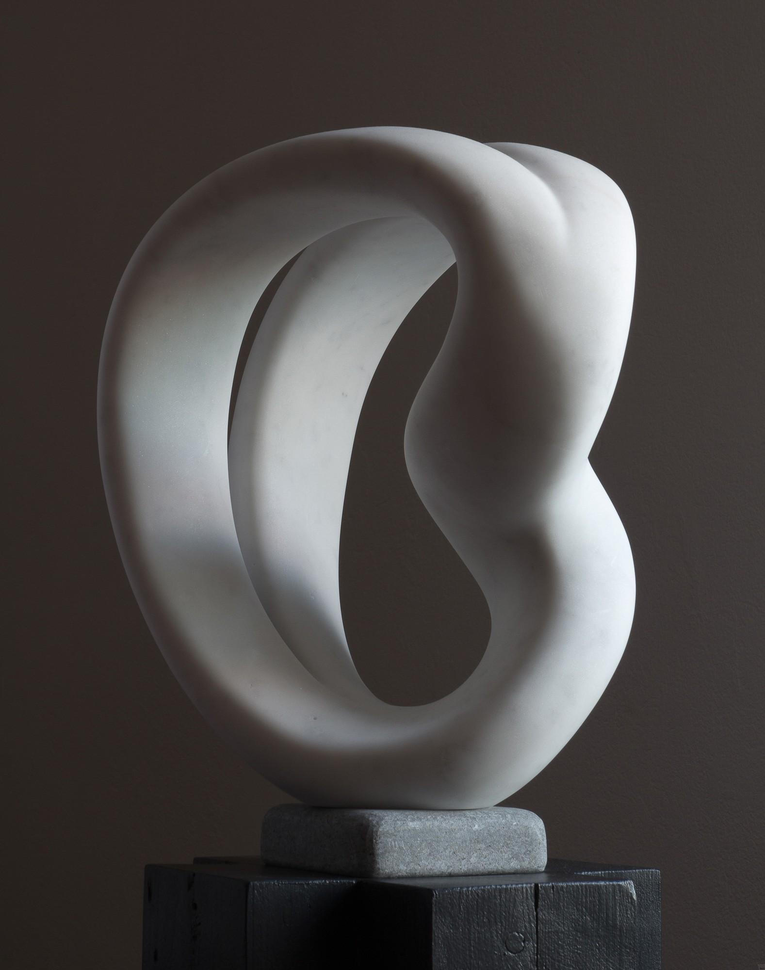 Laokoon, von links, Marmor, Stein Skulptur von Bildhauer Klaus W. Rieck