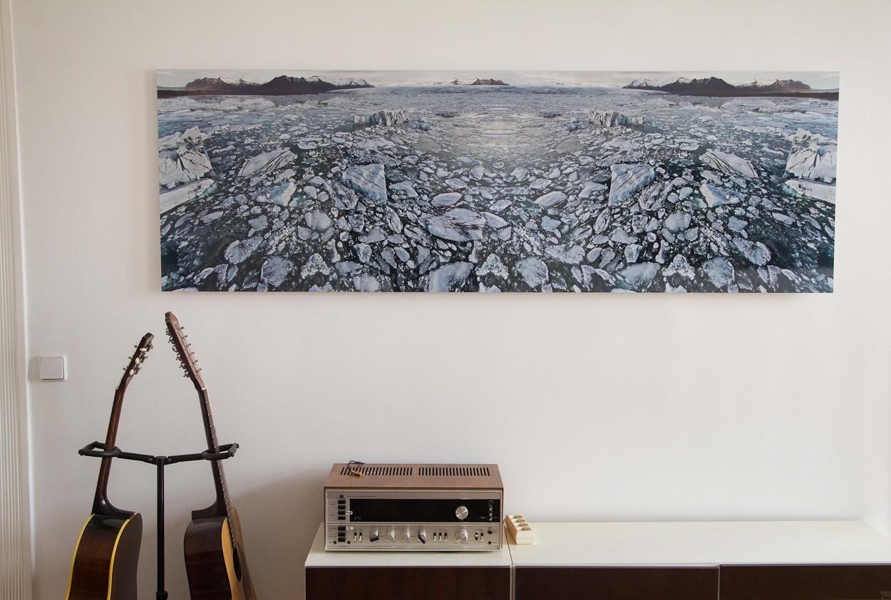 Polar Bear, Raumansicht | Fotografie von Finkbeiner & Salm, Lambda-Fotodruck auf Alu-Dibond, limitierte Edition