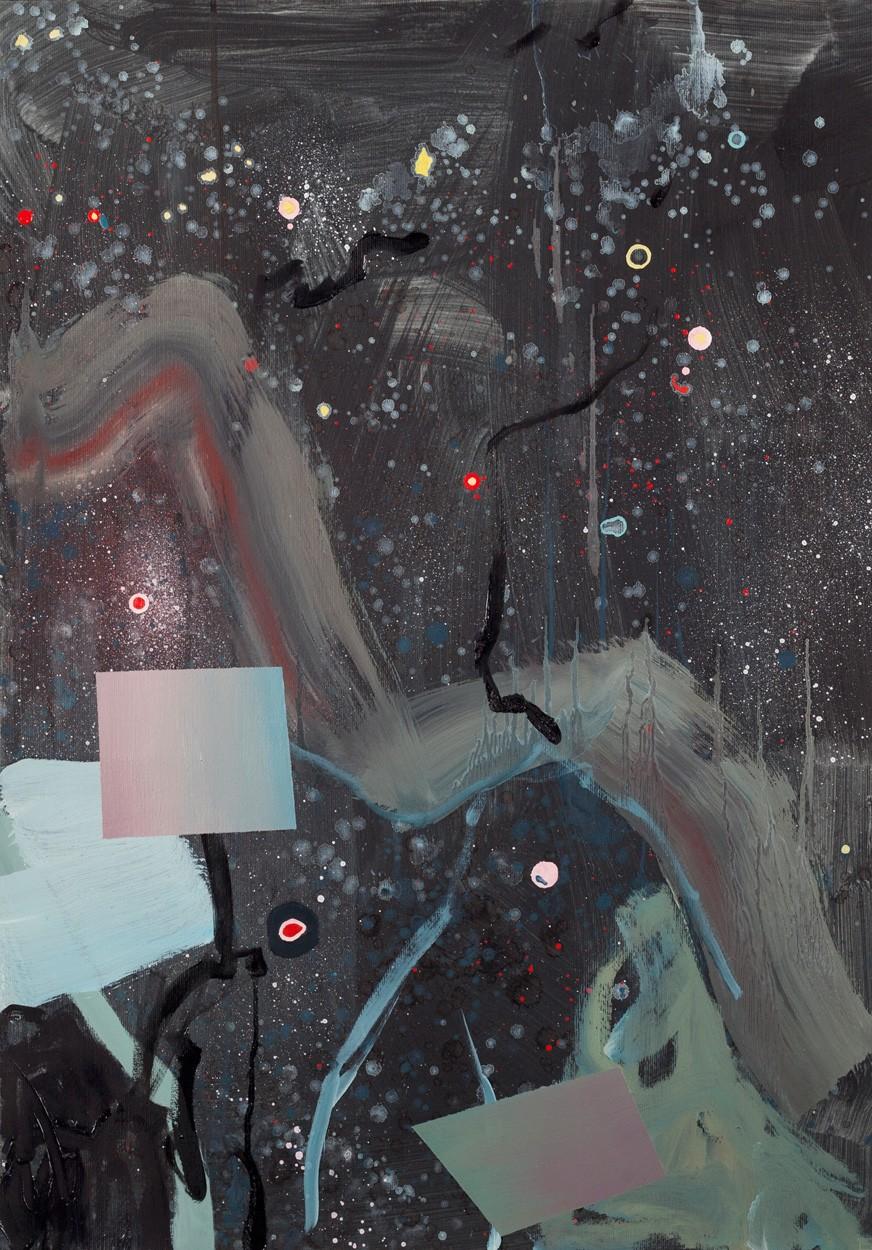 Zwischenräume_1.6 | Malerei von Malwin Faber, gerahmt