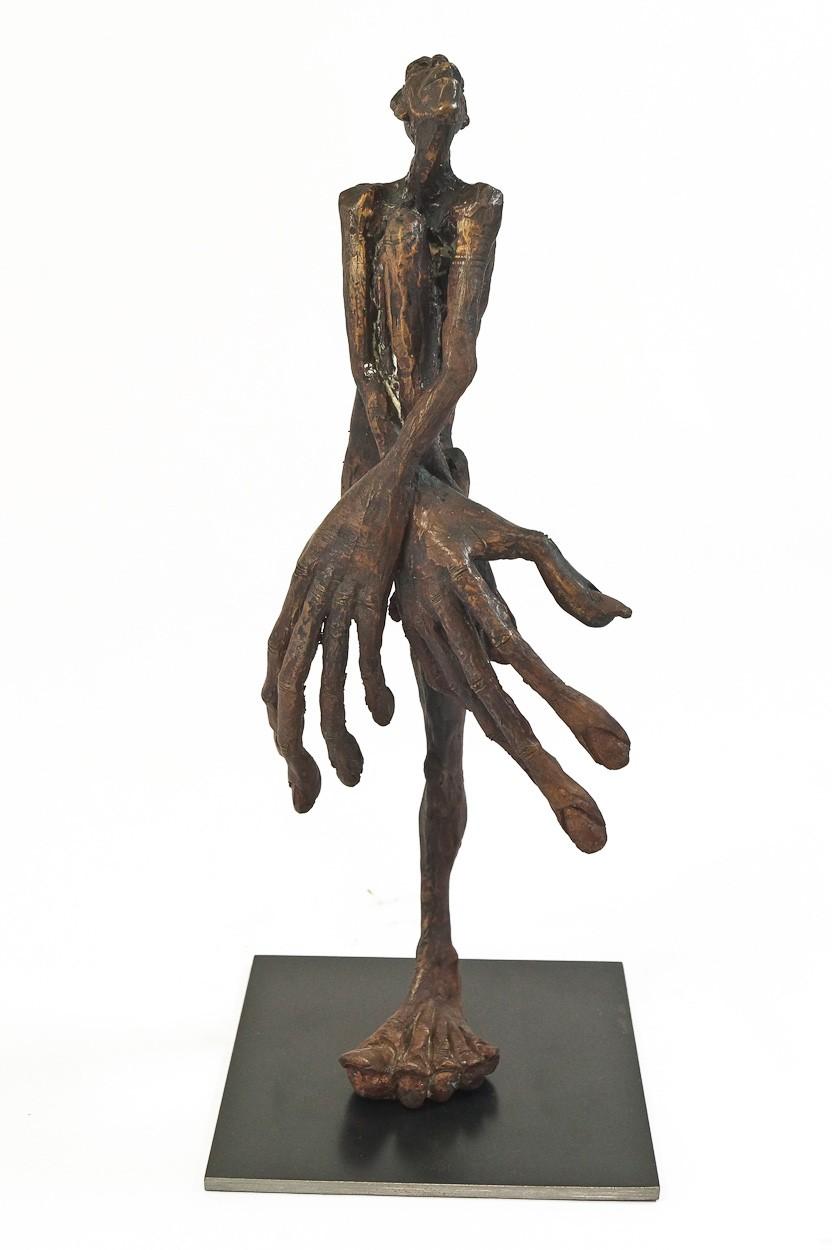 SchamDi - frontal | Bronze Plastik, Skulptur von Tim David Trillsam, Edition