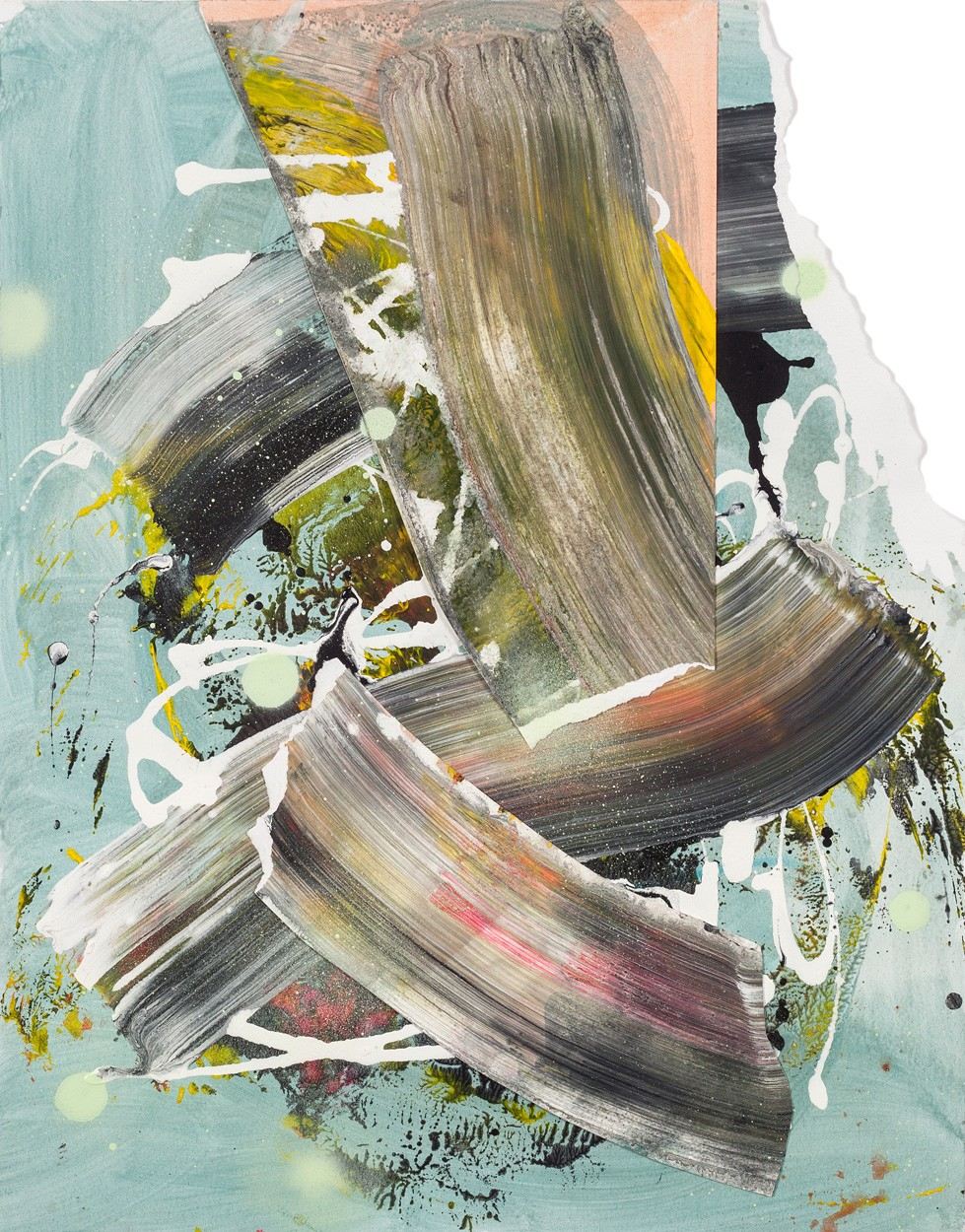Zwischenräume_6.1 | Malerei von Malwin Faber