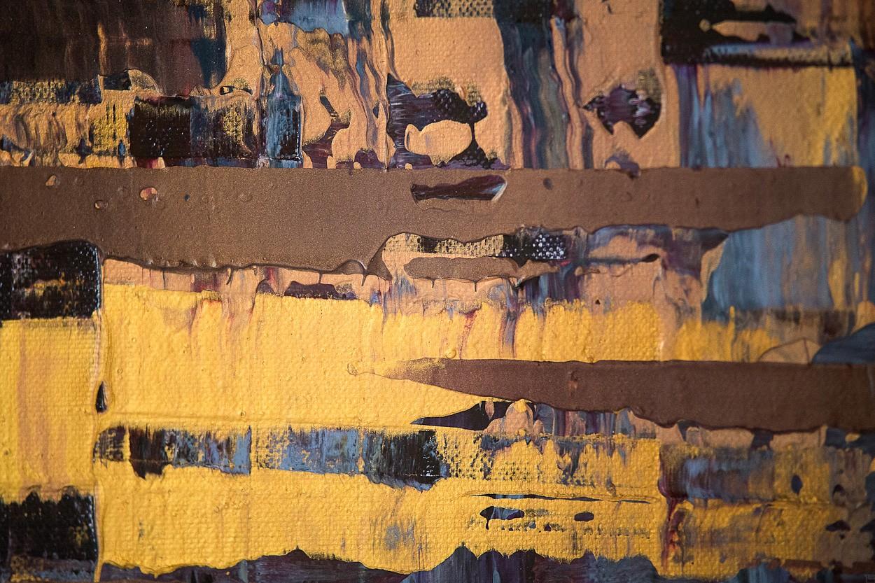 Pixel 1 - Detail frontal 3 | Malerei von Lali Torma | Acryl auf Leinwand, abstrakt