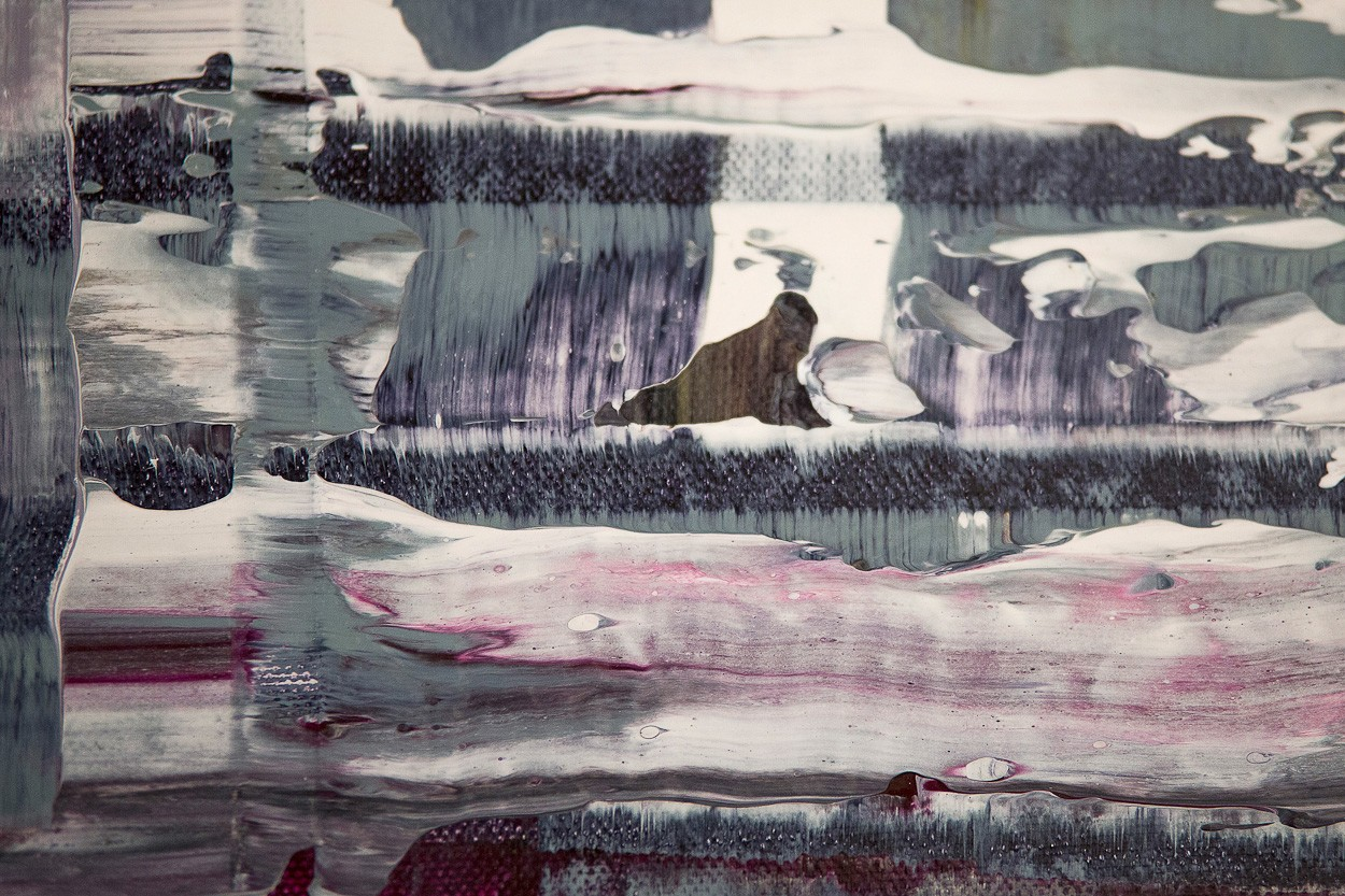 Pixel 1 - Detail frontal 4 | Malerei von Lali Torma | Acryl auf Leinwand, abstrakt