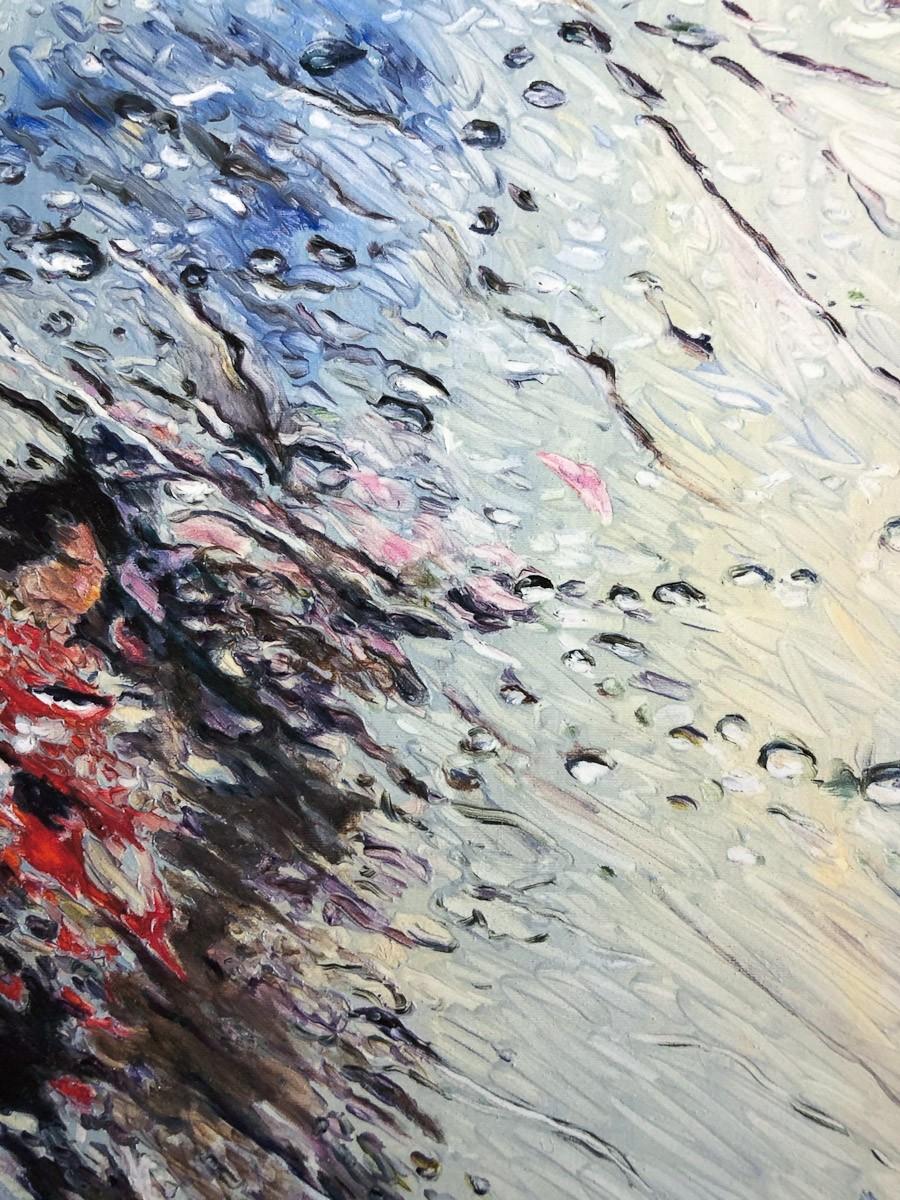 "Kunstdruck ""Fluid"" by Simone Westphal | Fineartprint Hahnemühle, Limitierung 10 - Detail"