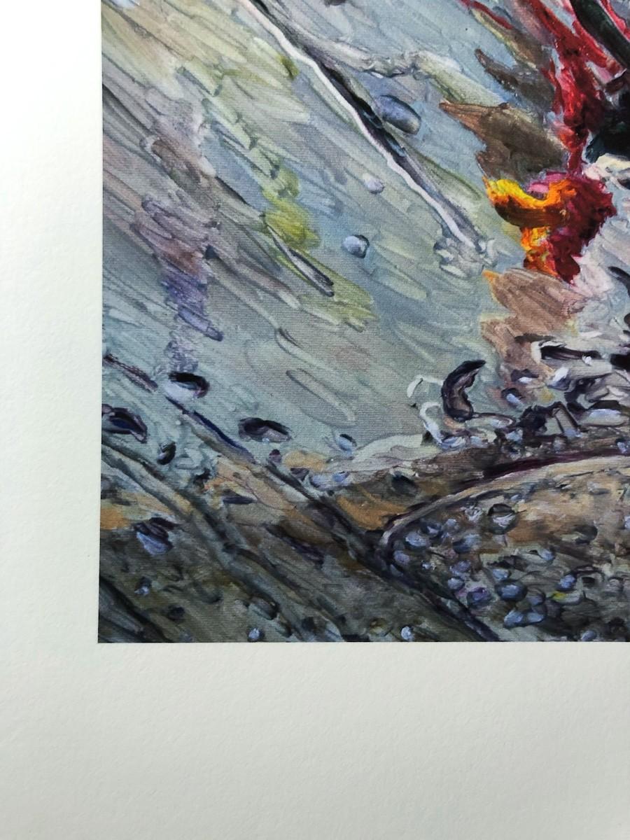 "Kunstdruck ""Fluid"" by Simone Westphal | Fineartprint Hahnemühle, Limitierung 10 - Detail2"