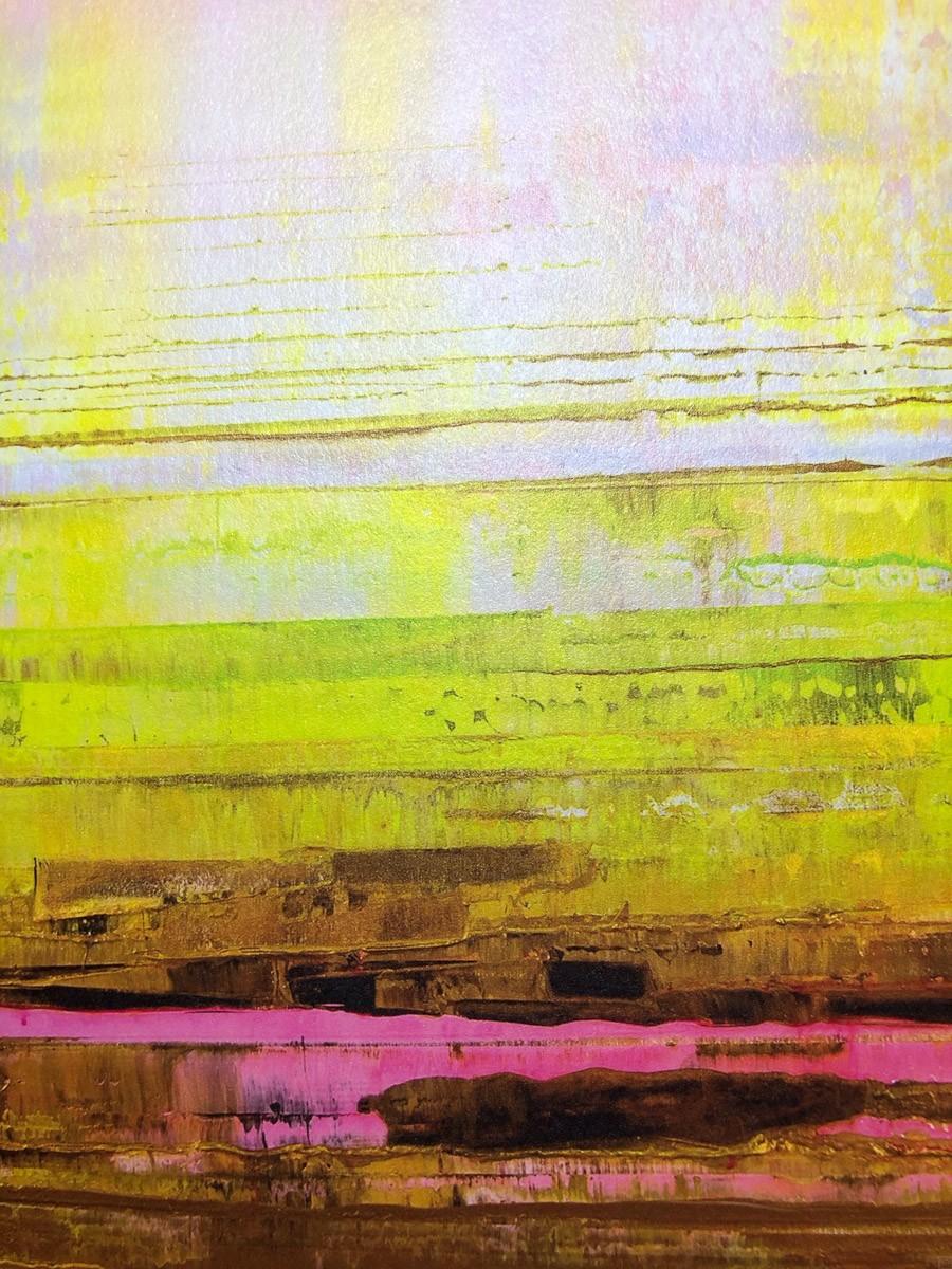 Kunstdruck Prisma 13 - Pinker Nil by Torma   Fineartprint Hahnemühle, Limitierung 10 - Detail3