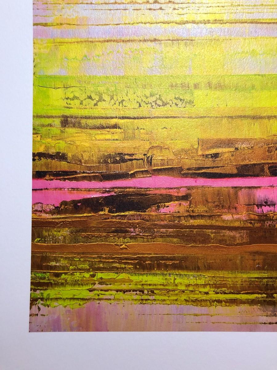 Kunstdruck Prisma 13 - Pinker Nil by Torma   Fineartprint Hahnemühle, Limitierung 10 - Detail