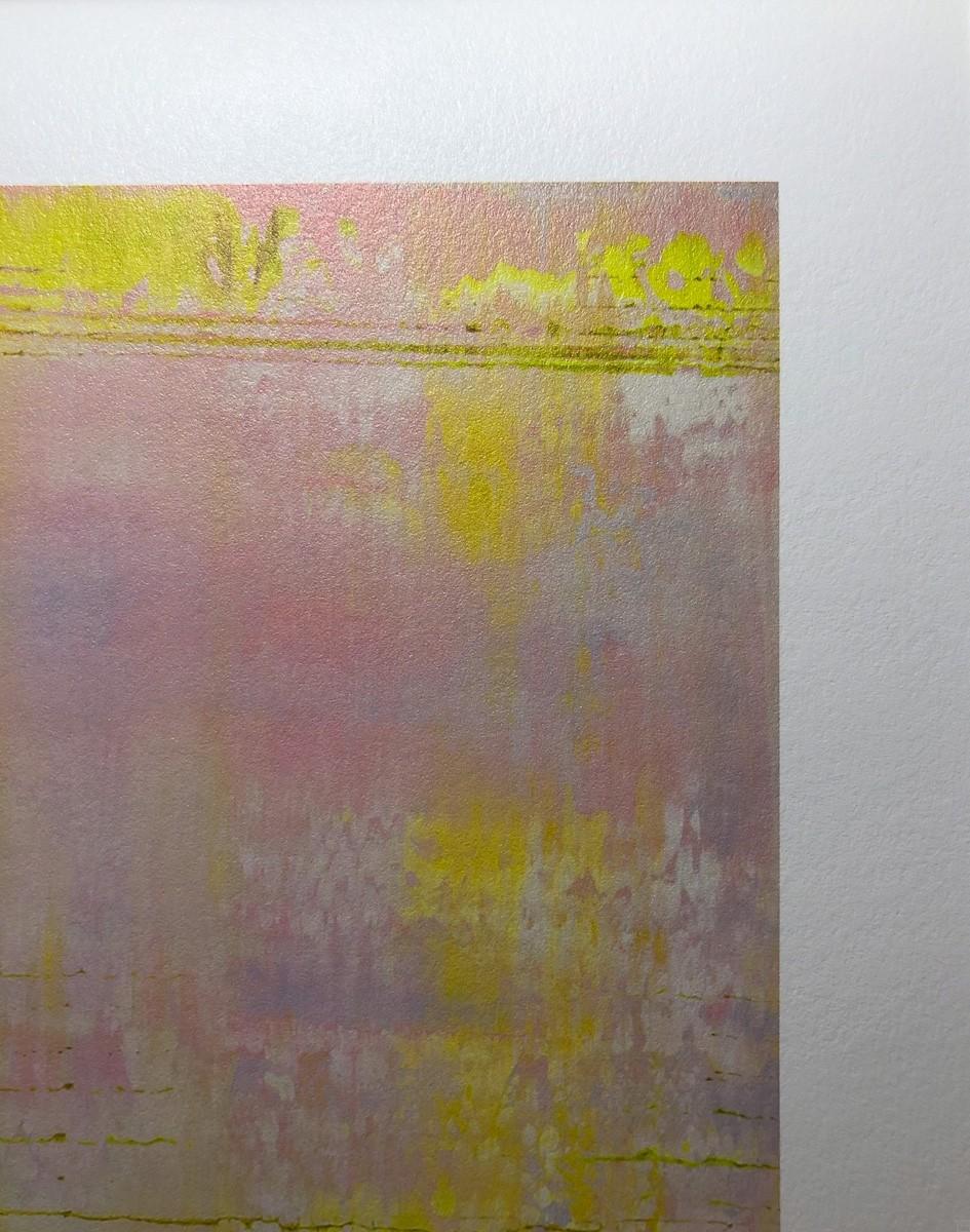 Kunstdruck Prisma 13 - Pinker Nil by Torma   Fineartprint Hahnemühle, Limitierung 10 - Detail2