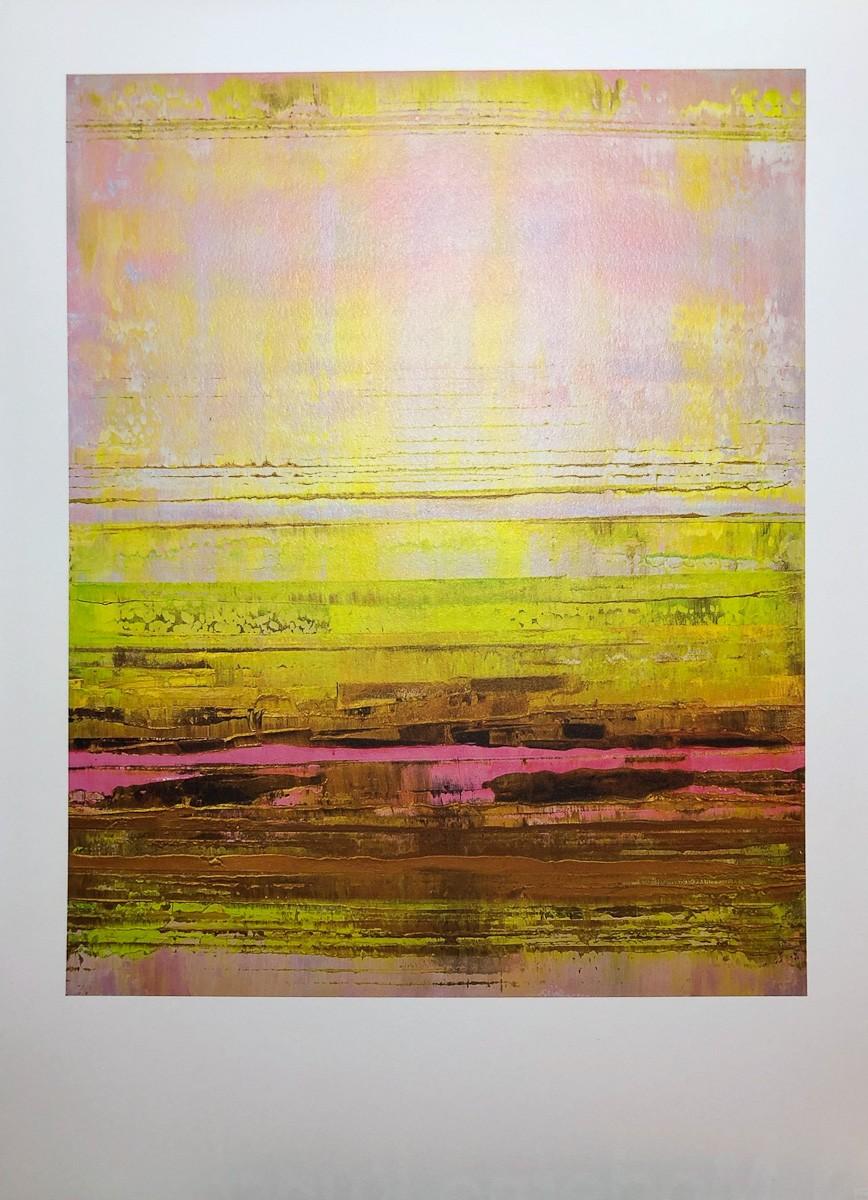 Kunstdruck Prisma 13 - Pinker Nil by Torma   Fineartprint Hahnemühle, Limitierung 10