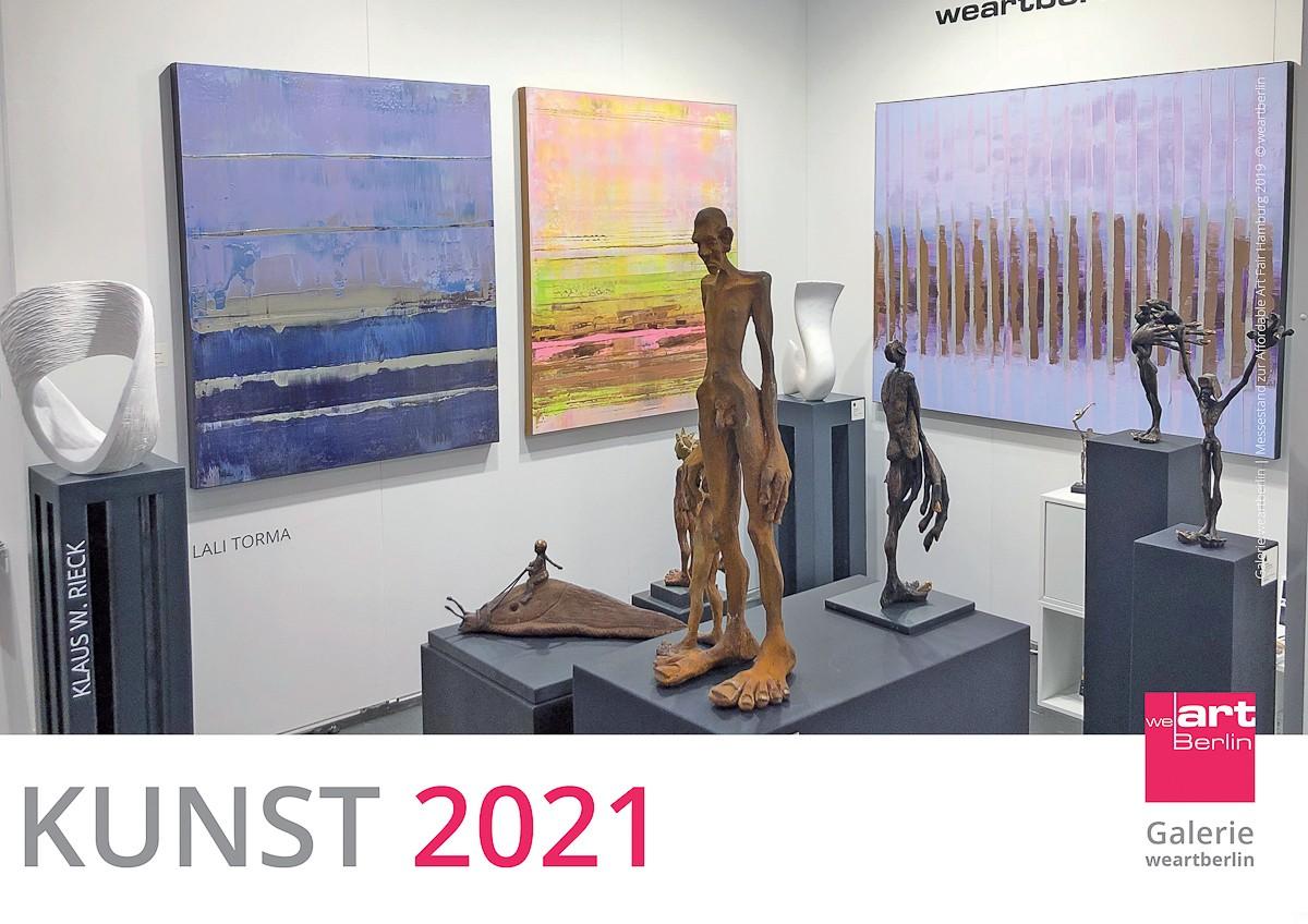 KUNST Kalender 2021 - Cover