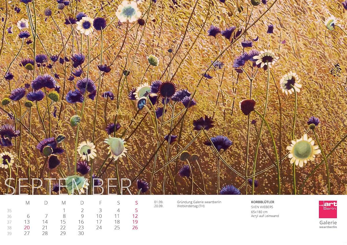 KUNST Kalender 2021 - 9