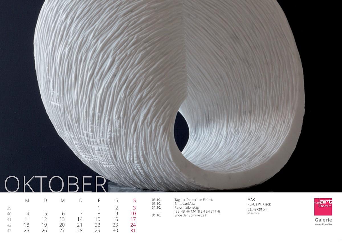 KUNST Kalender 2021 - 10