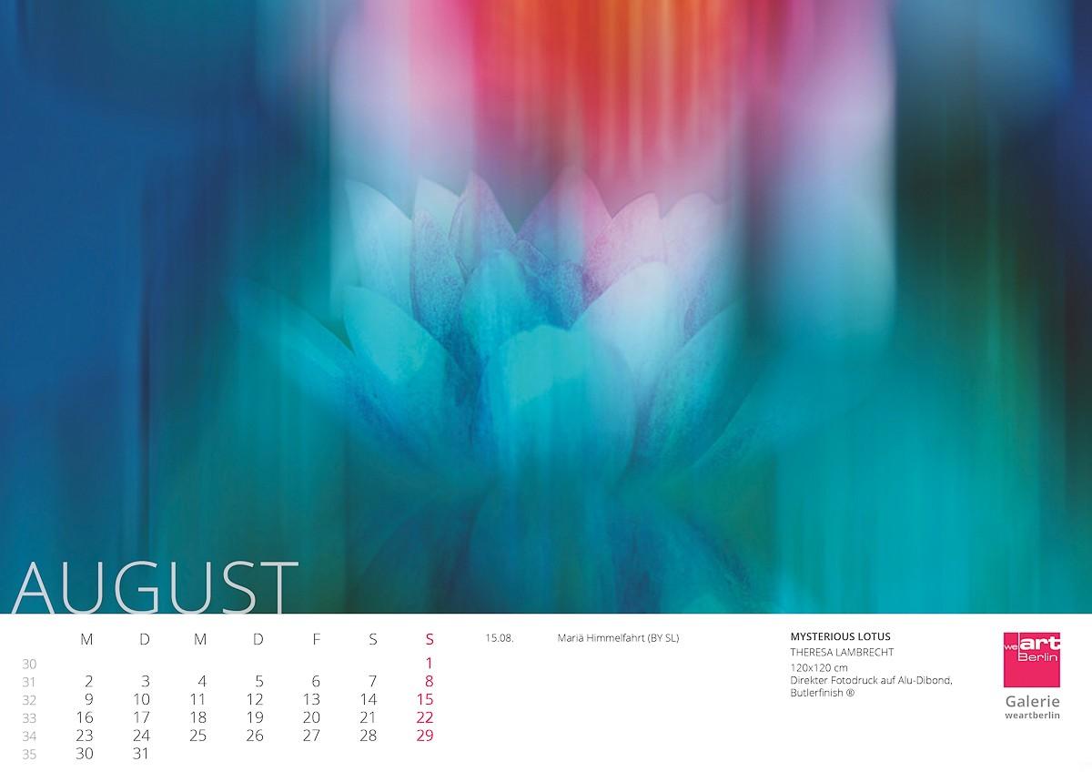 KUNST Kalender 2021 - 8