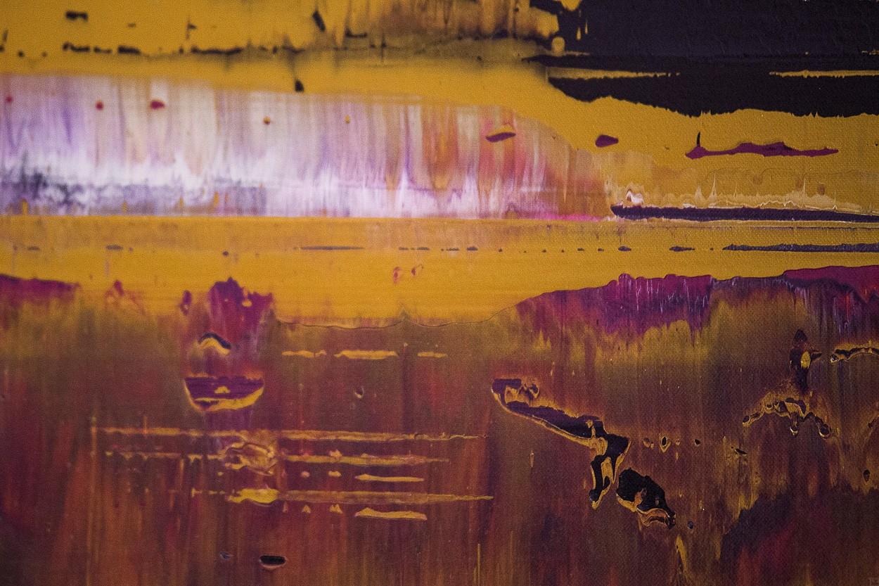 Prisma 8 - Manganprise, Detail 4 | Malerei von Lali Torma | Acryl auf Leinwand, abstrakt