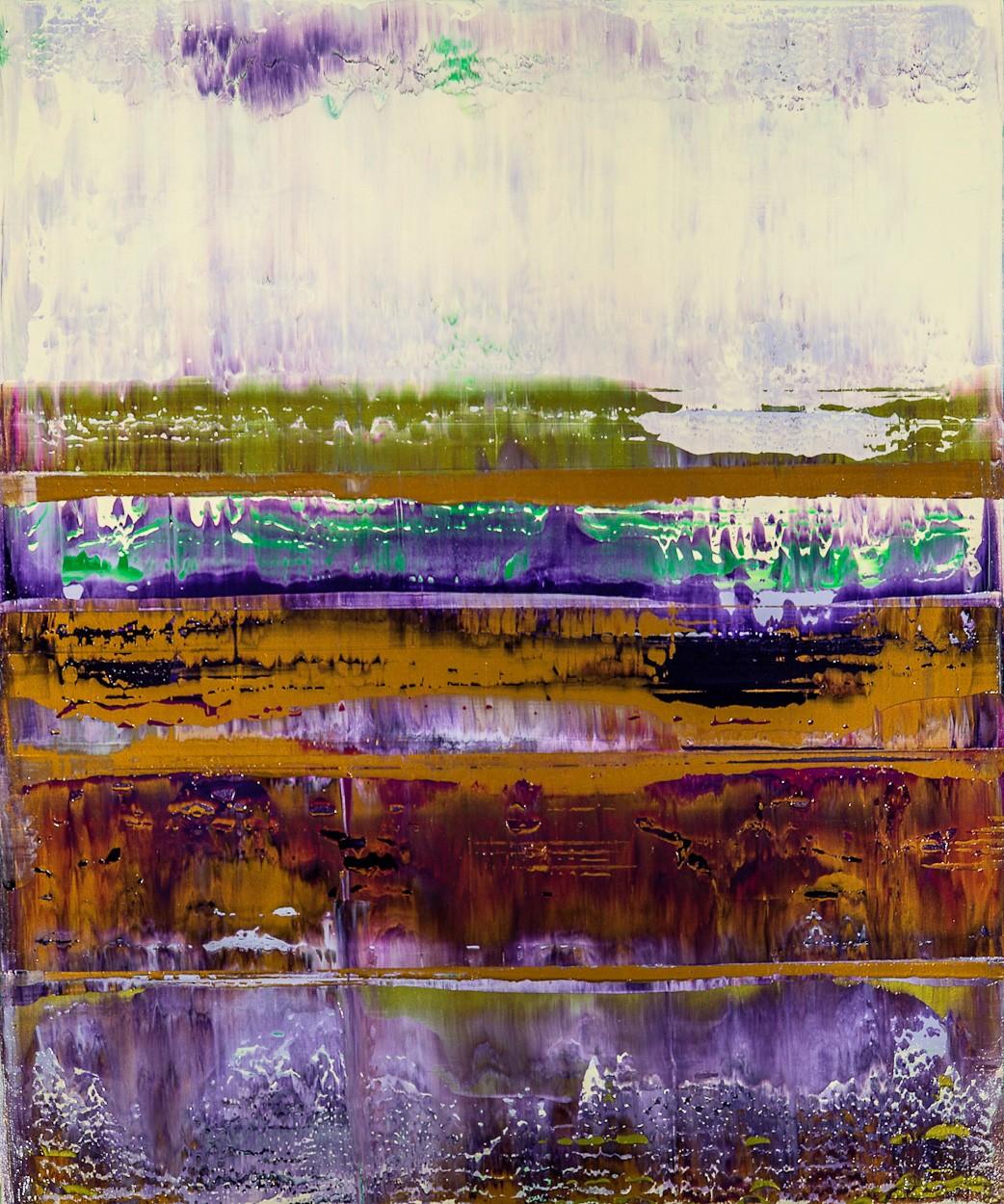 Prisma 8 - Manganprise | Malerei von Lali Torma | Acryl auf Leinwand, abstrakt