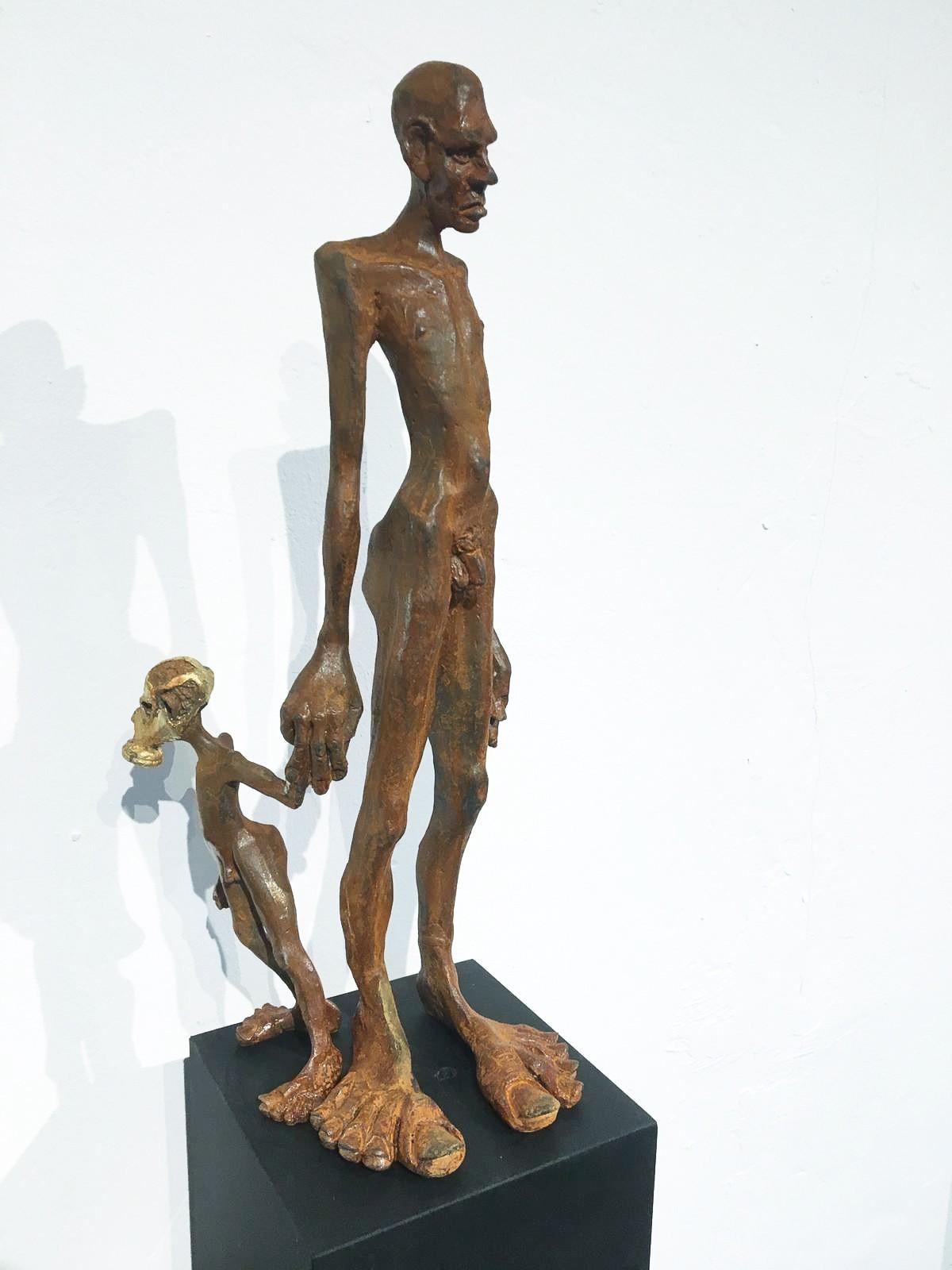 Nachlass - Eisen Skulptur von Tim David Trillsam, Edition