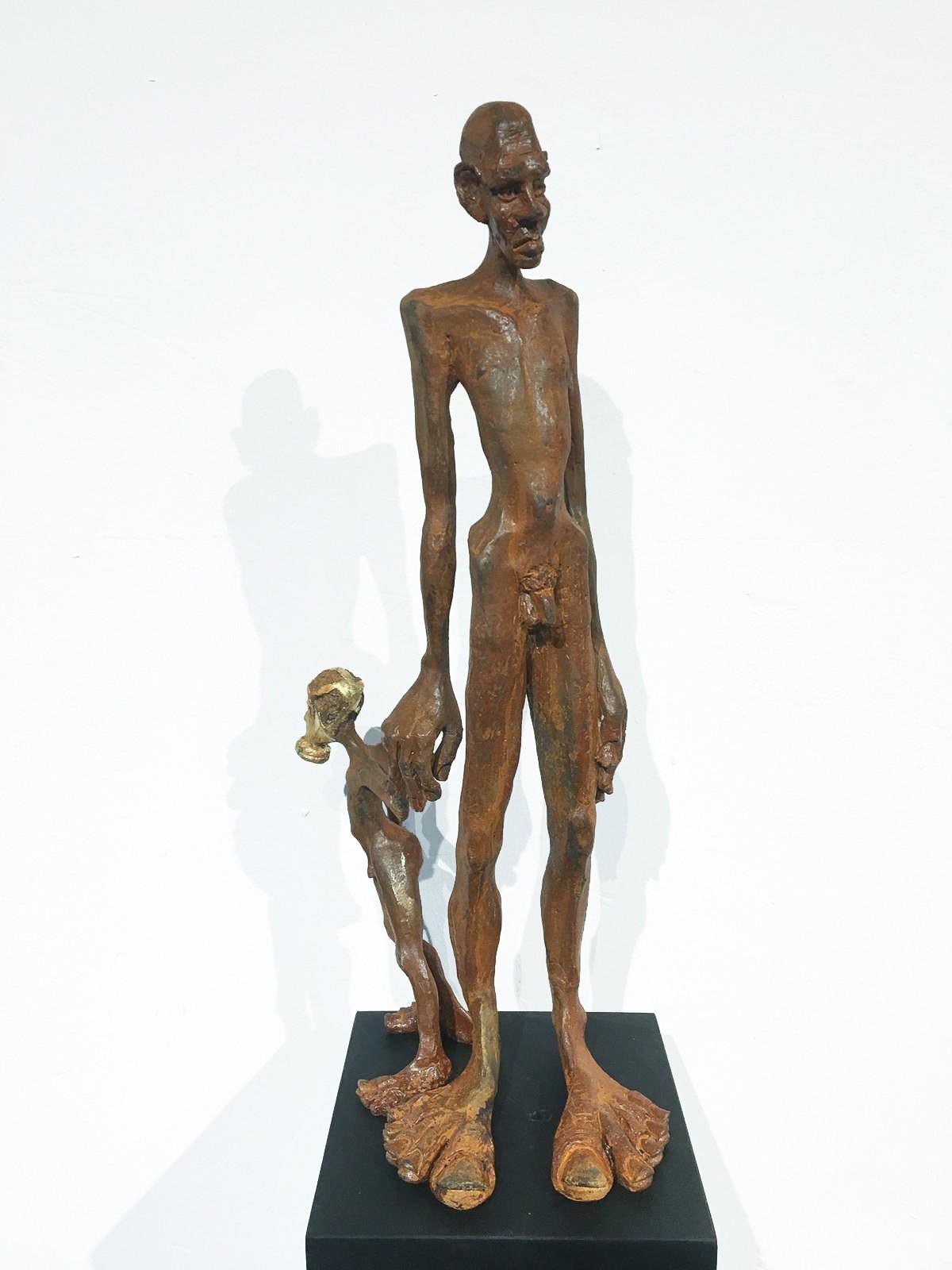 Nachlass - Eisen Plastik, Skulptur von Tim David Trillsam, Edition