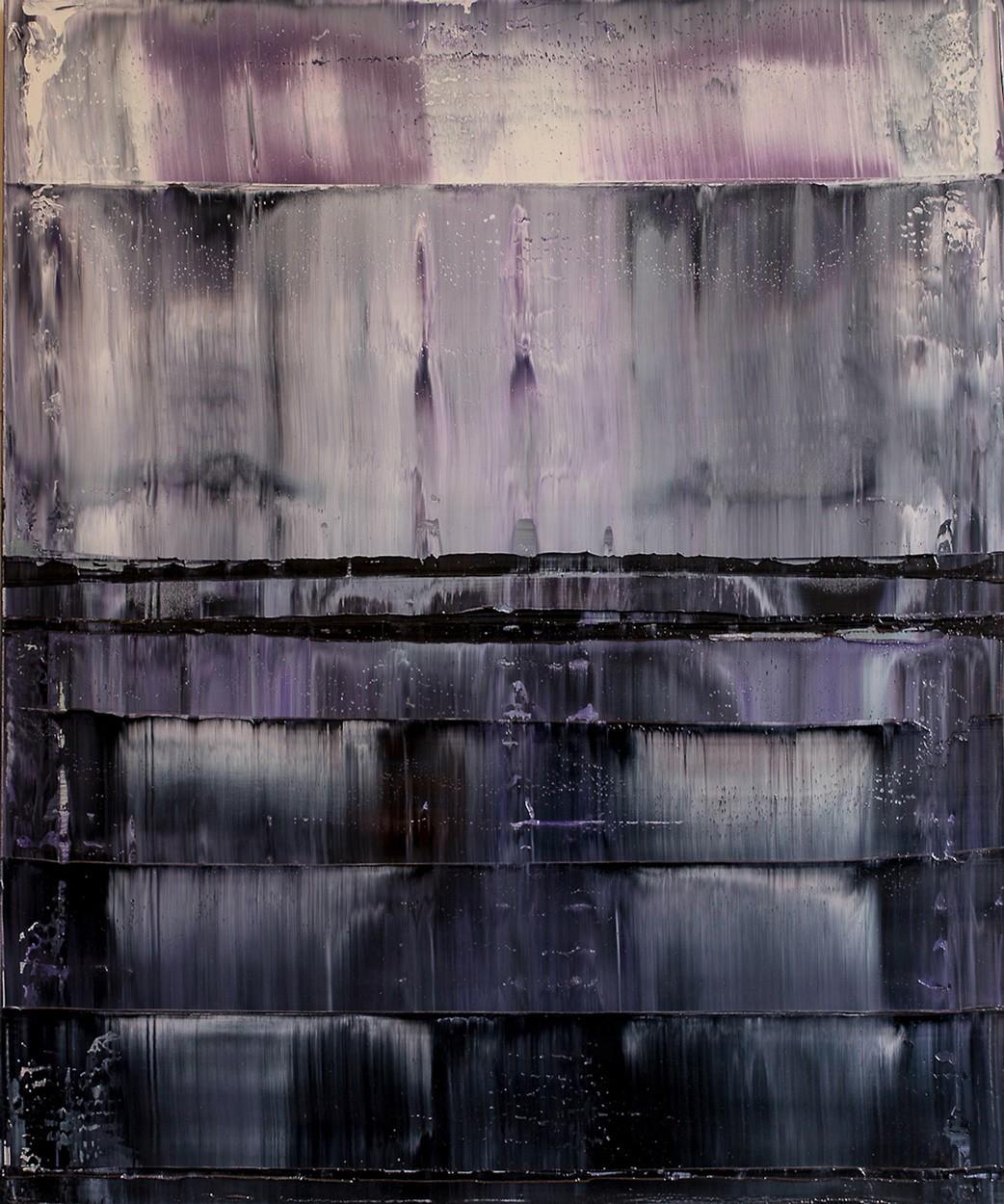 Prisma 12 - Gesteinströmung | Malerei von Lali Torma | Öl auf Leinwand, abstrakt