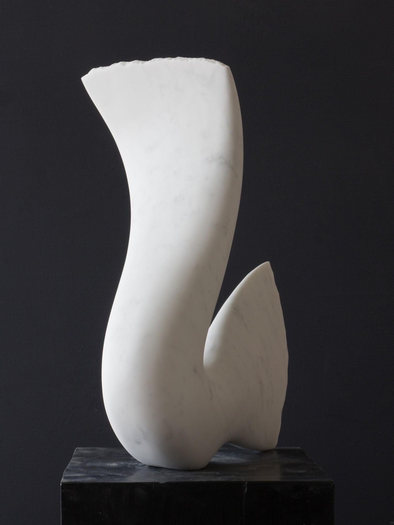 Leda, Stein Skulptur aus Marmor von Bildhauer Klaus W. Rieck (3)